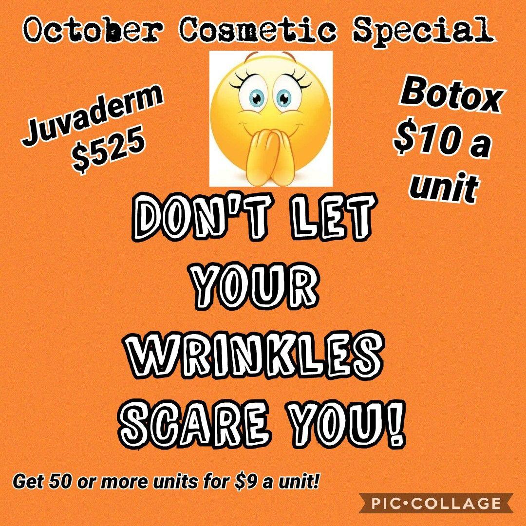 October Monthly Specials