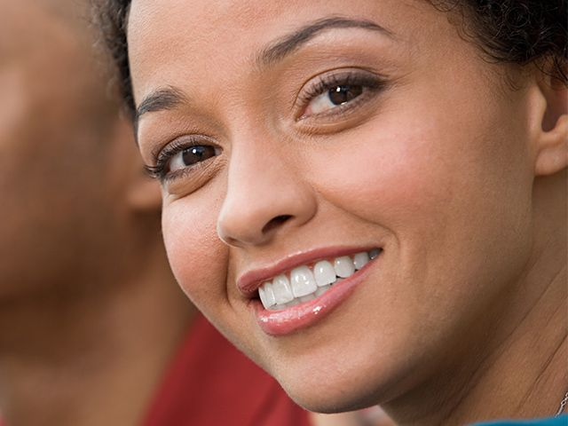 happy cosmetic dentistry patient