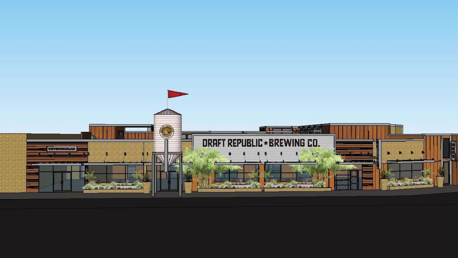 The Cohn Restaurant Group has taken over the former Depot Springs project in La Mesa and plans to build an expansive restaurant and brewery. (Courtesy/Cohn Restaurant Group)