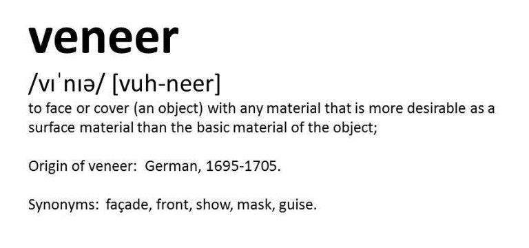 veneer definition