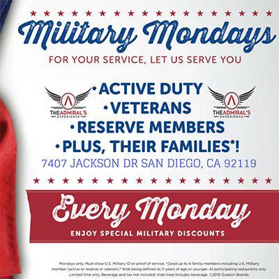 Military Monday's