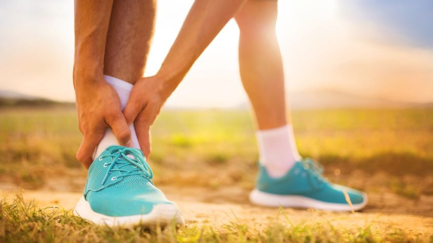 Pain while running
