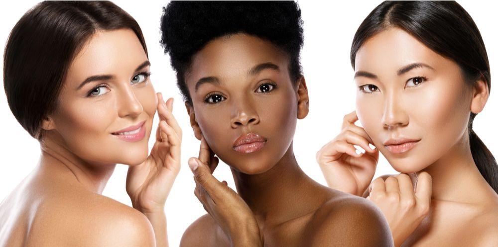 Multi-Ethnic beauty or interracial friendship.