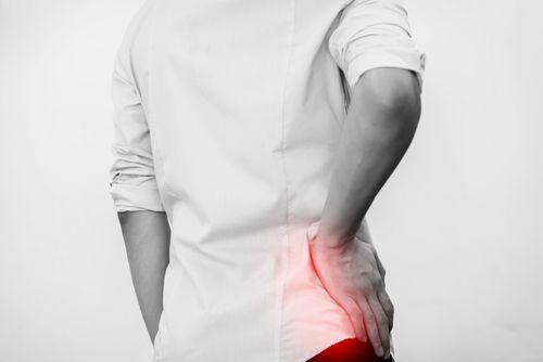 workplace hip injury