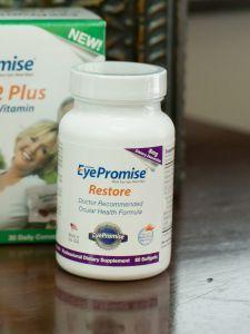 Vitamins eye care