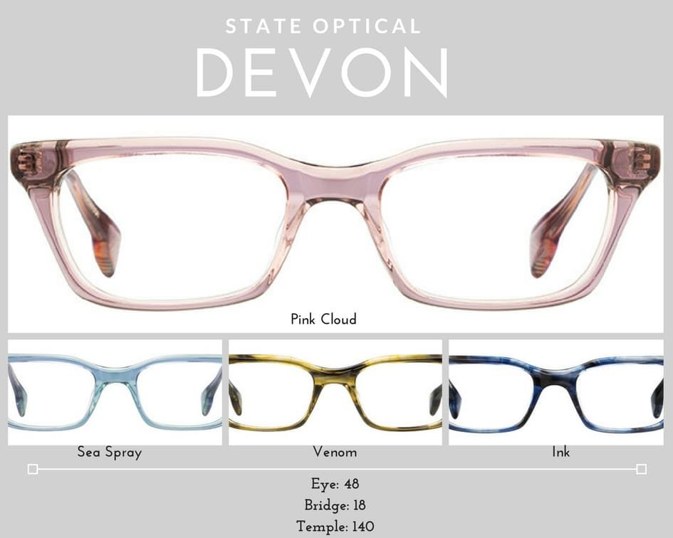 womens glasses Devon