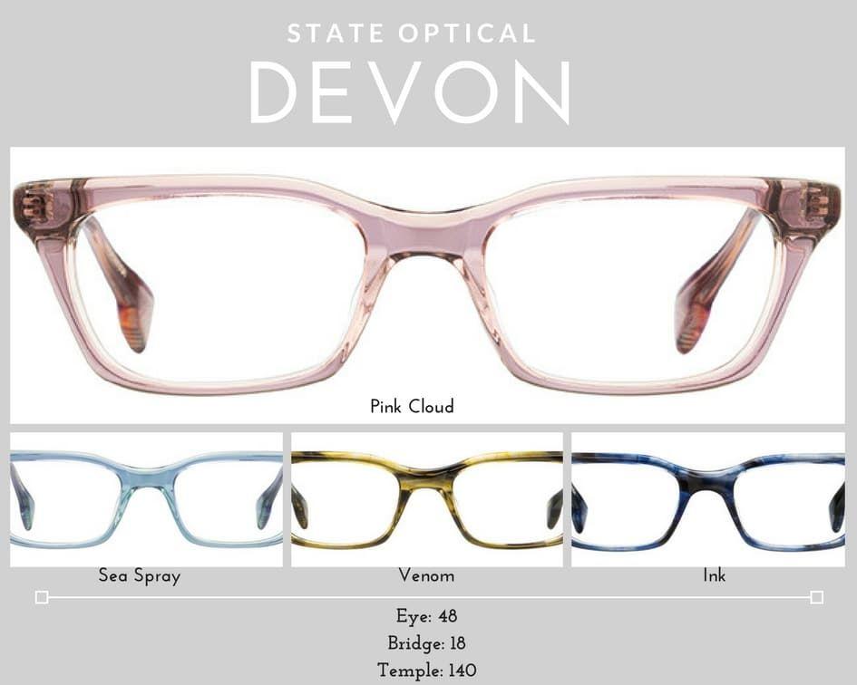 womens glasses Devon