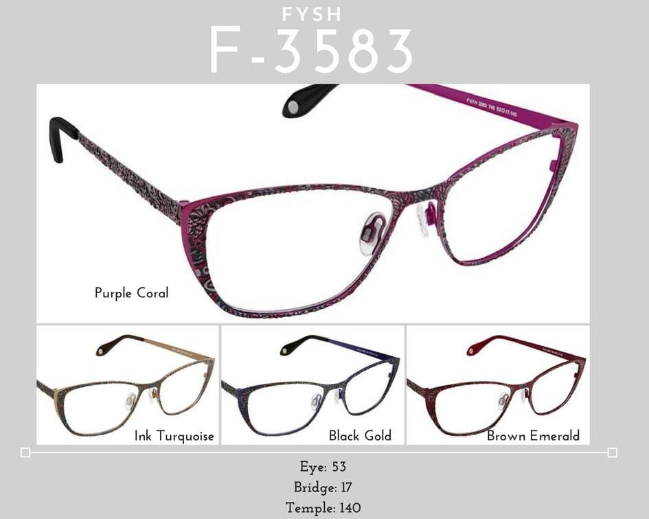 Fysh Frames Model F-3583