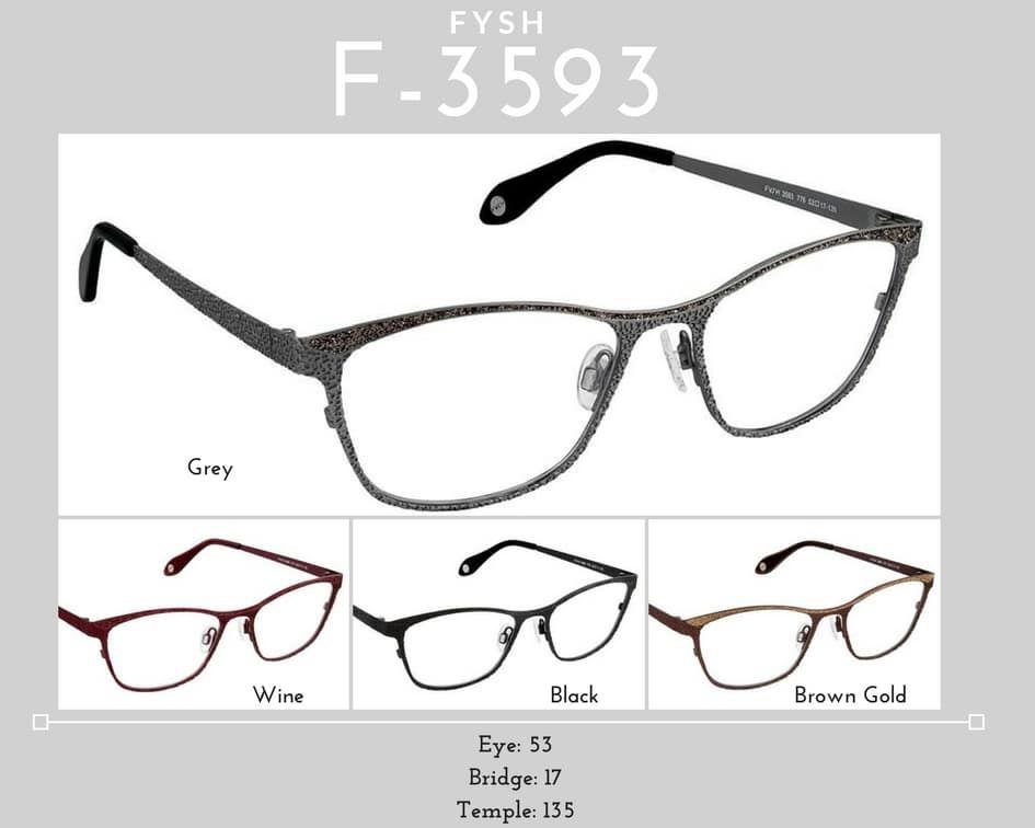 Fysh Frames Model F-3593