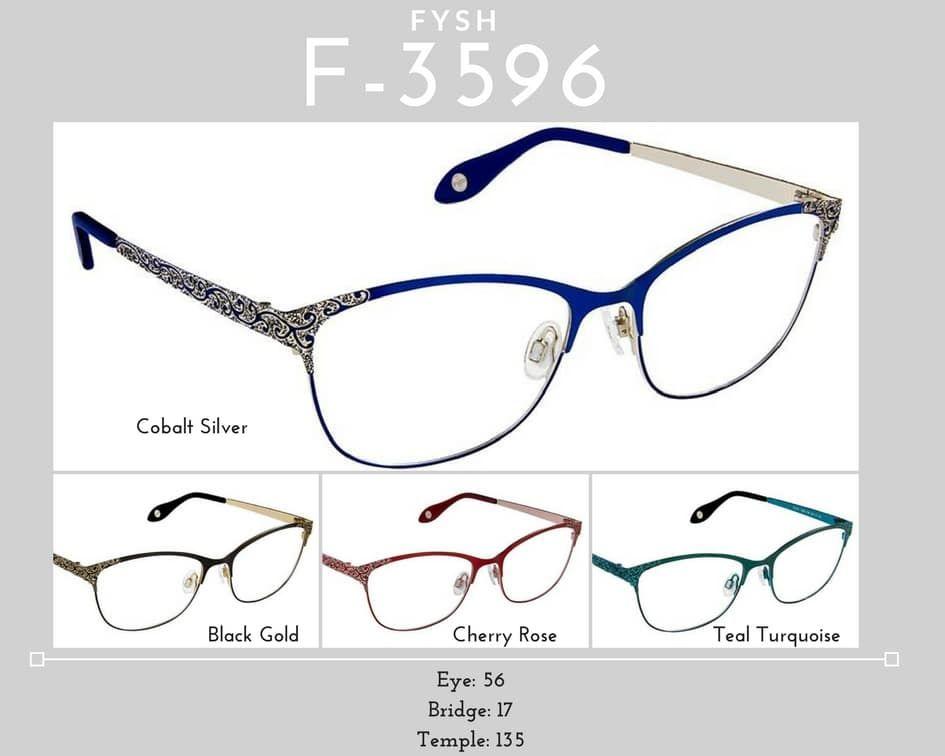 Fysh Frames Model F-3596