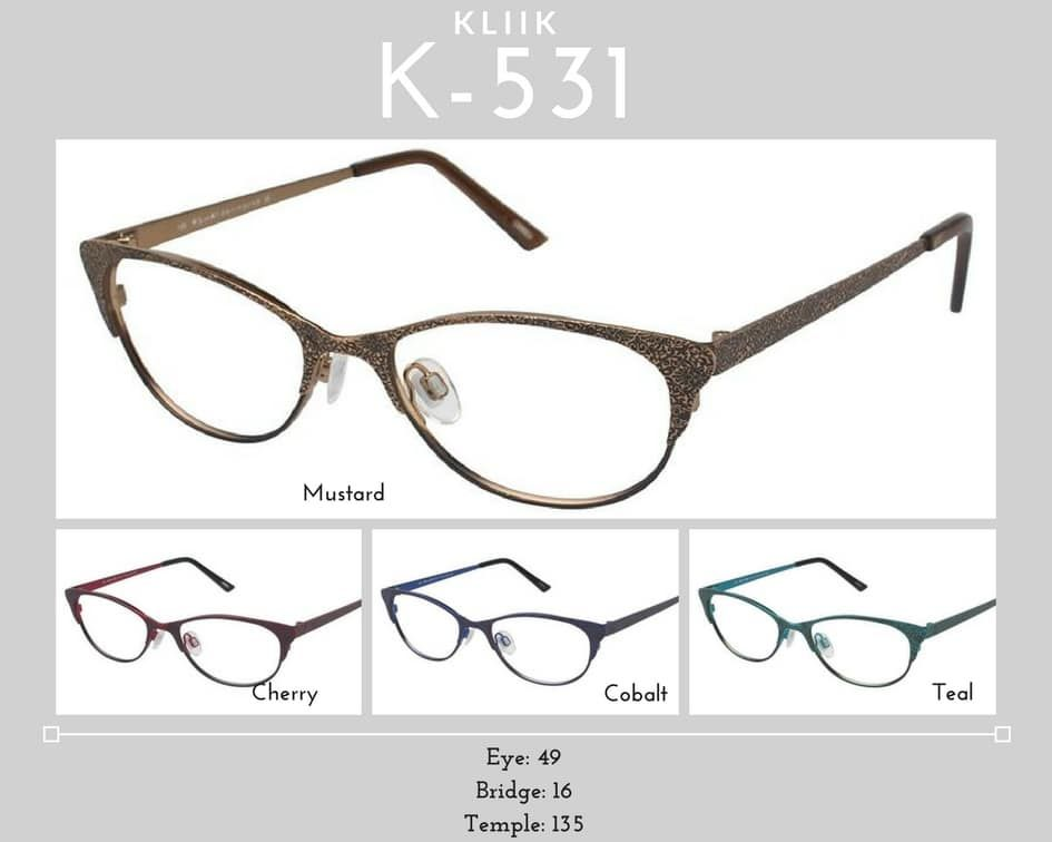 K-531 KLiik Glasses