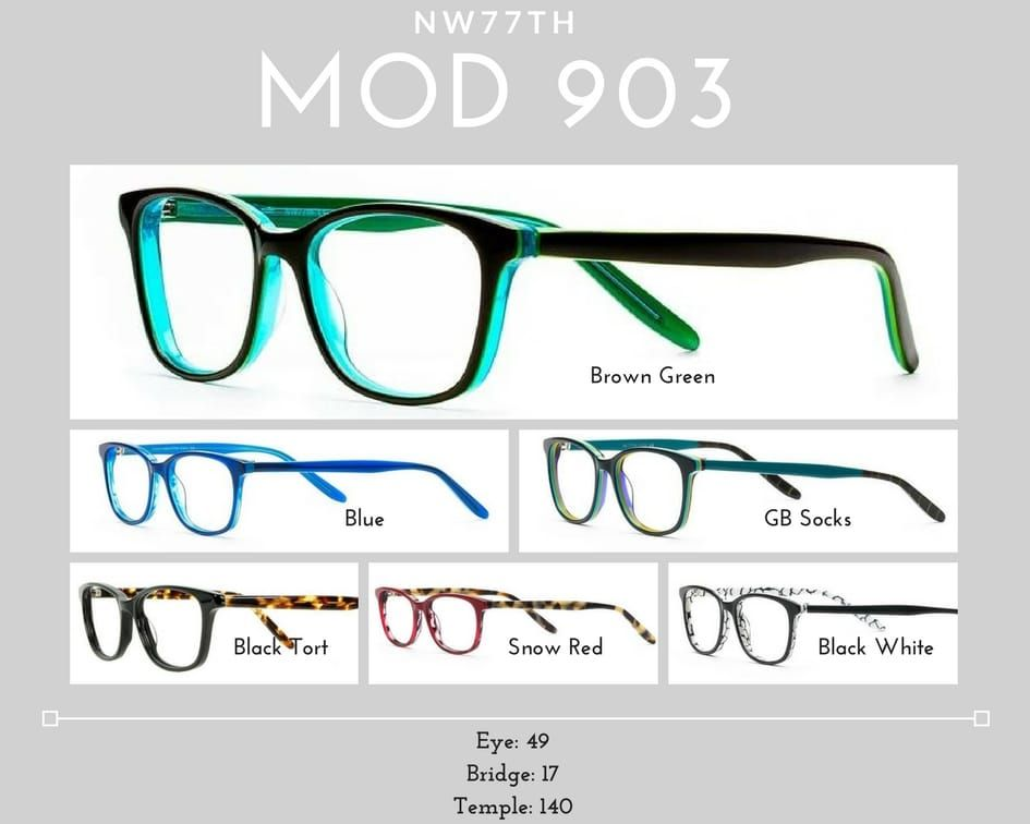 womens glasses mod 903
