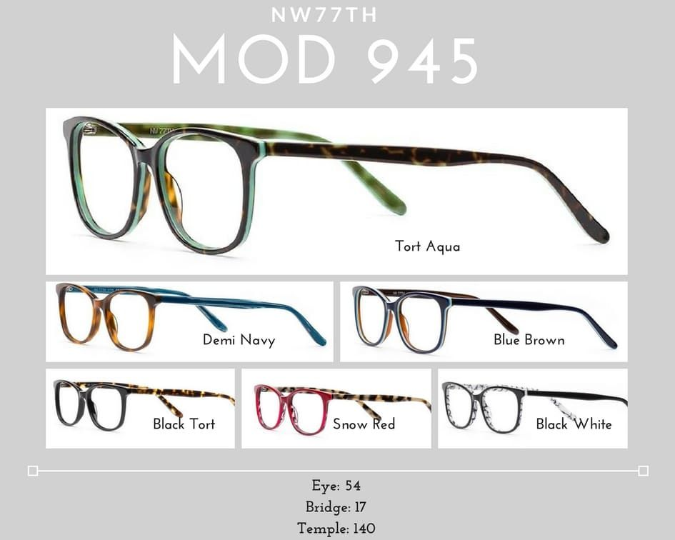 womens glasses MOD 945