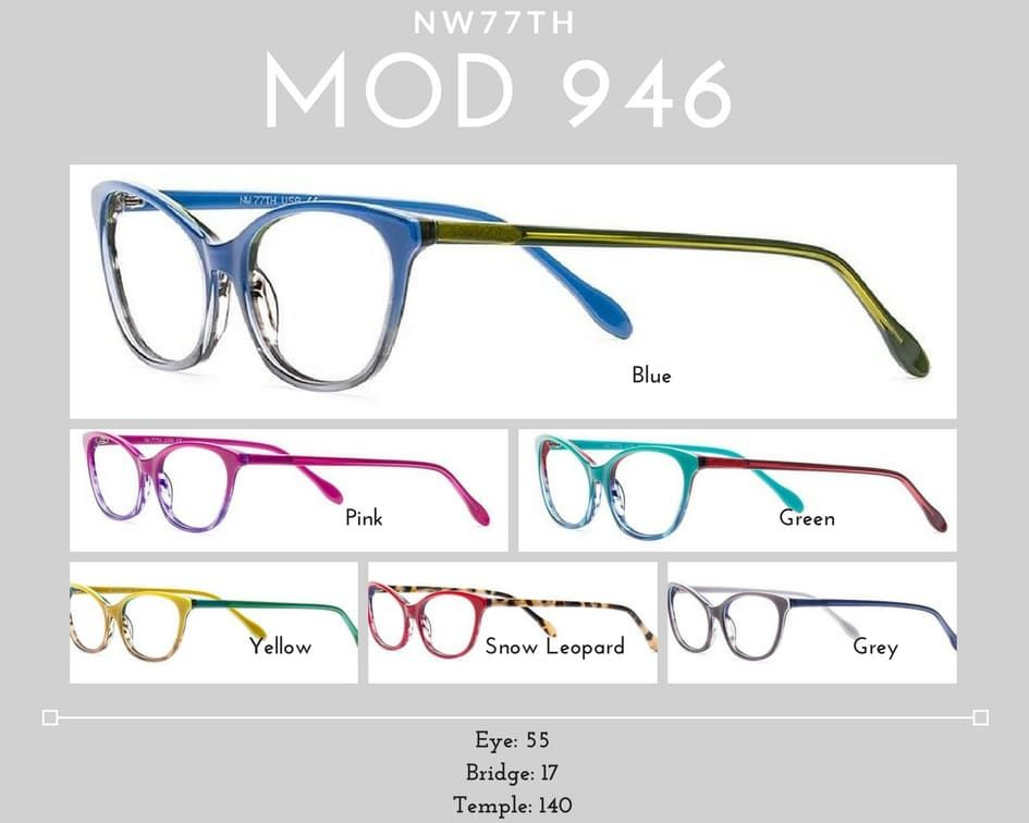 womens glasses mod 946