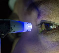 Glaucoma testing procedure