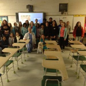 Career Day – Giving back to the Community and lovin' it!
