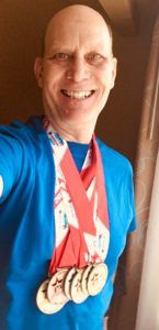 Dr. Gill Brings Home Gold (and More) at Transplant Games of America