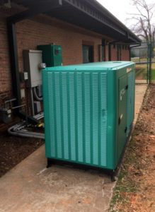 Power Outage? No Problem at Wilkinson Animal Hospital with the Big Green Power Machine!