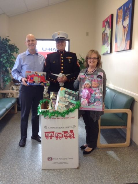 Toys for Tots Gifts Donated