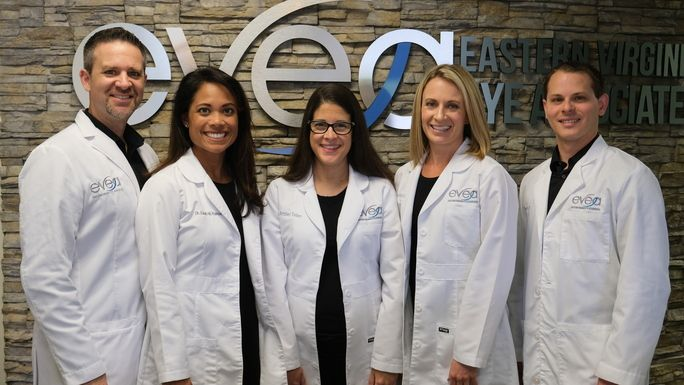 eye doctors at Eastern Virginia Eye Associates