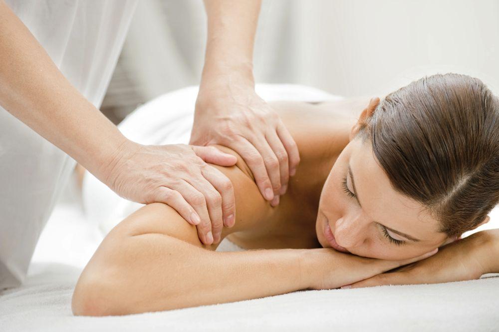 patient in massage