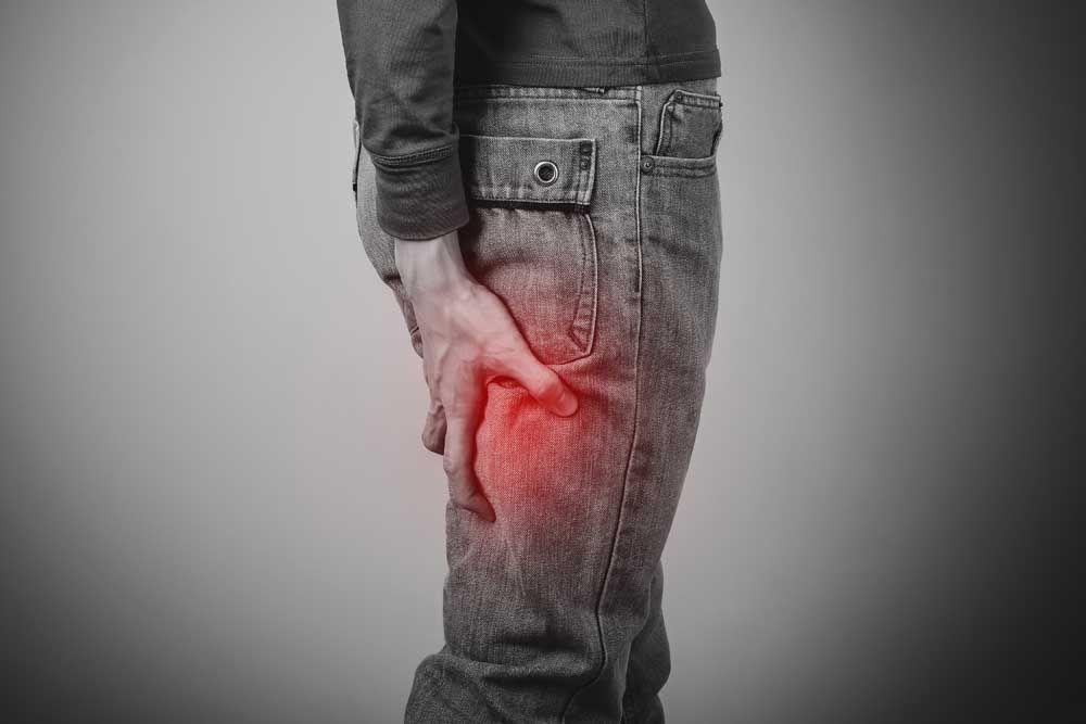 Nerve compression pain
