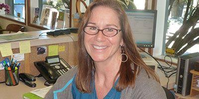 Teri our senior receptionist picture