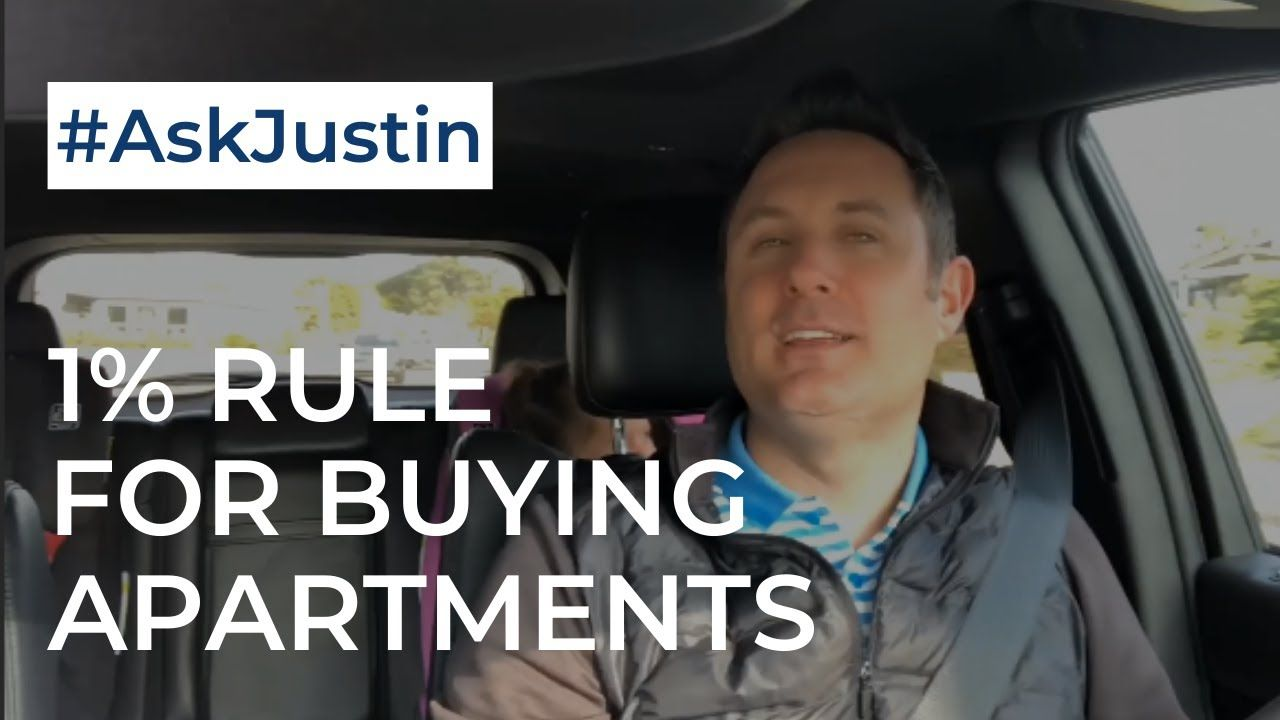 Ask Justin Show | The 1% Rule For Apartments