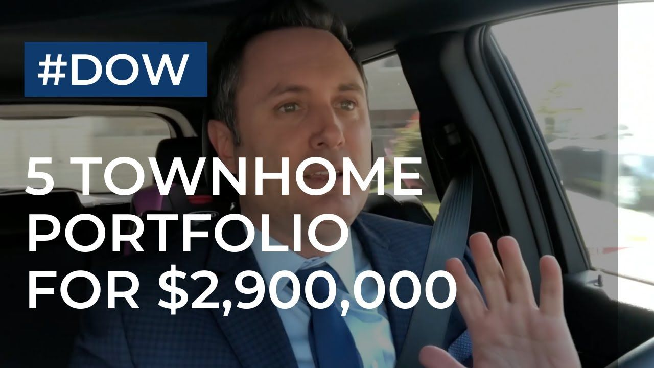 Deal of the Week   5 UTC Townhomes