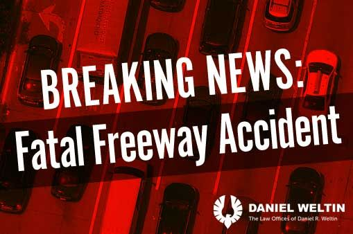 One dead in multiple crashes on I-680