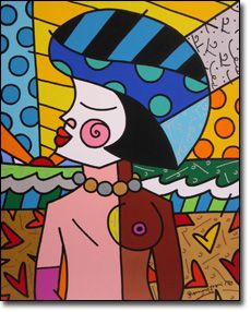 art by romero britto