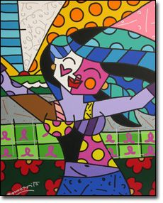 art by Romero Britto 2