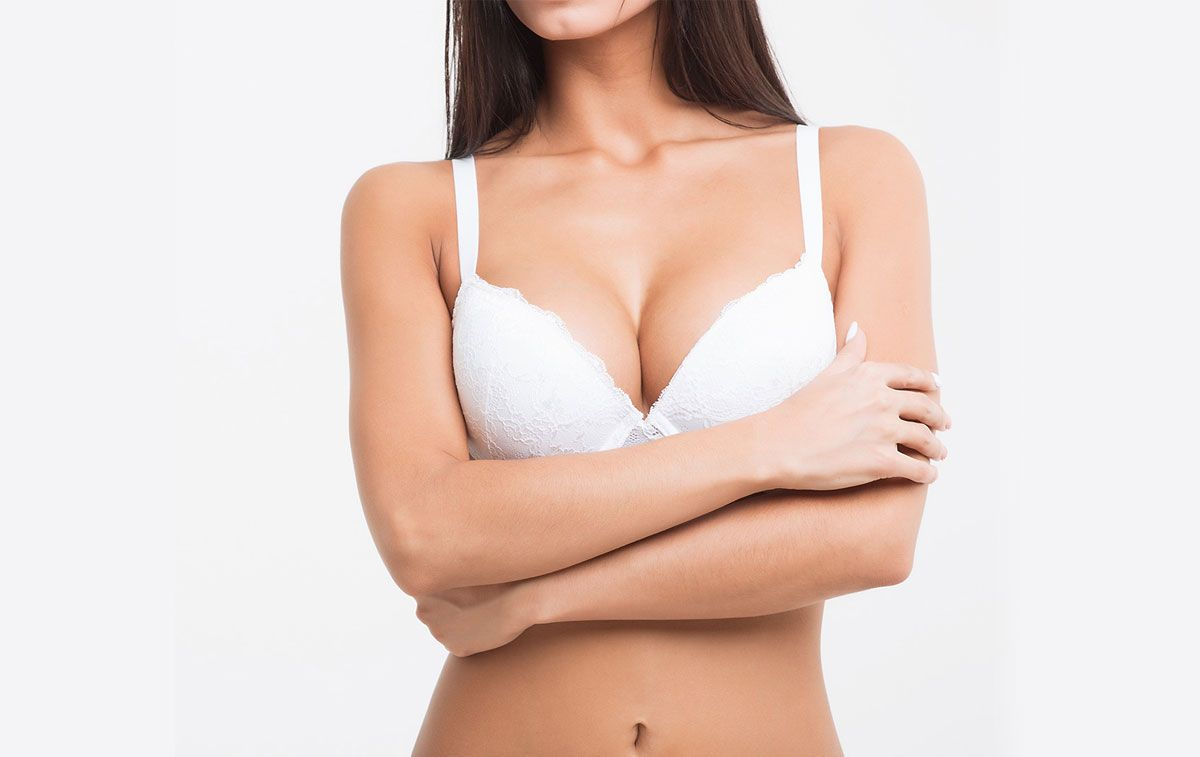 woman breast augmentation