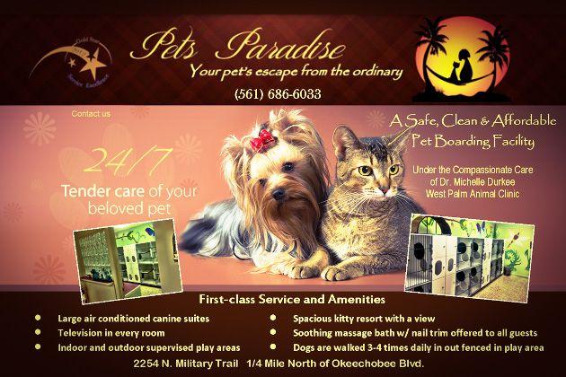 pets paradise banner