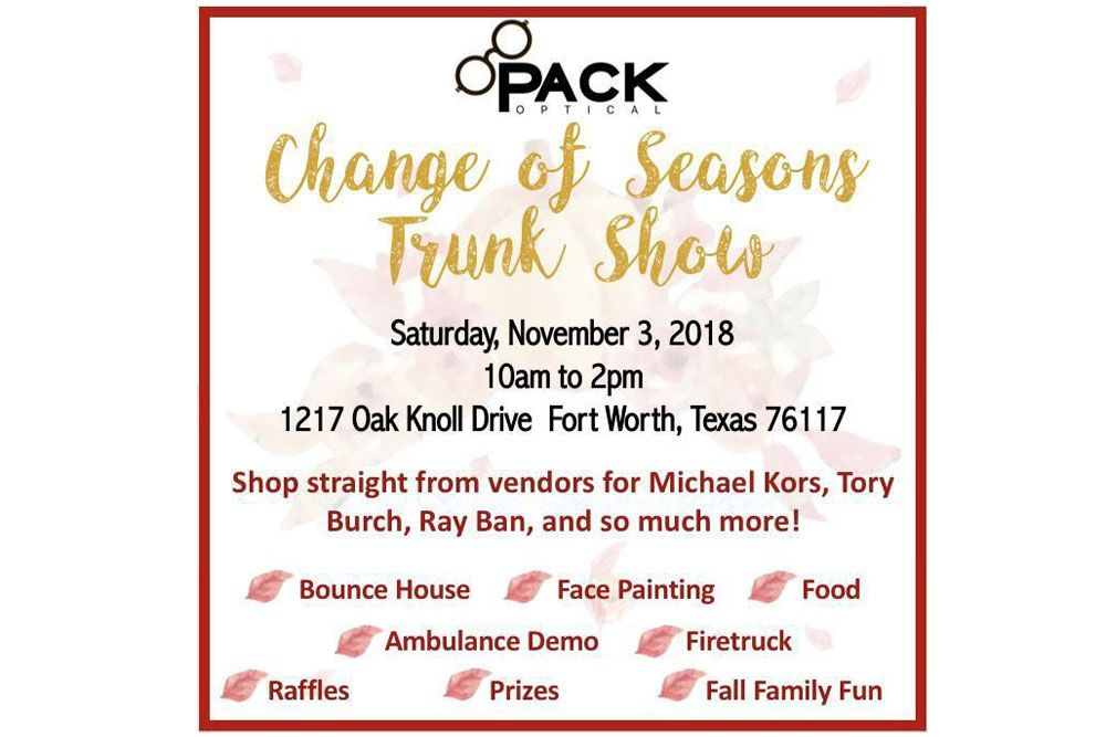 Change of Seasons Trunk Show