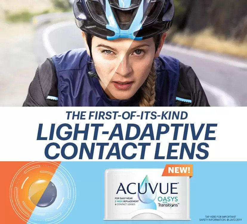 transition contact lenses