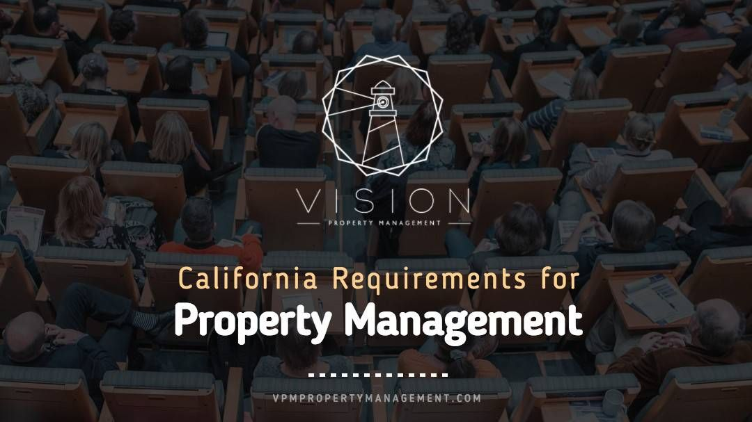 Does a property manager need a real estate license in California?