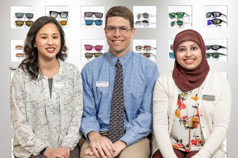 doctors at Crofton Family Eye Care