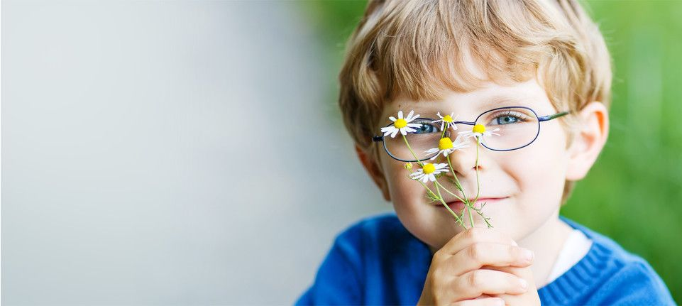 picture of a boy with glasses