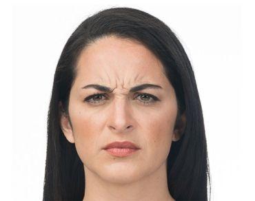 brow wrinkles