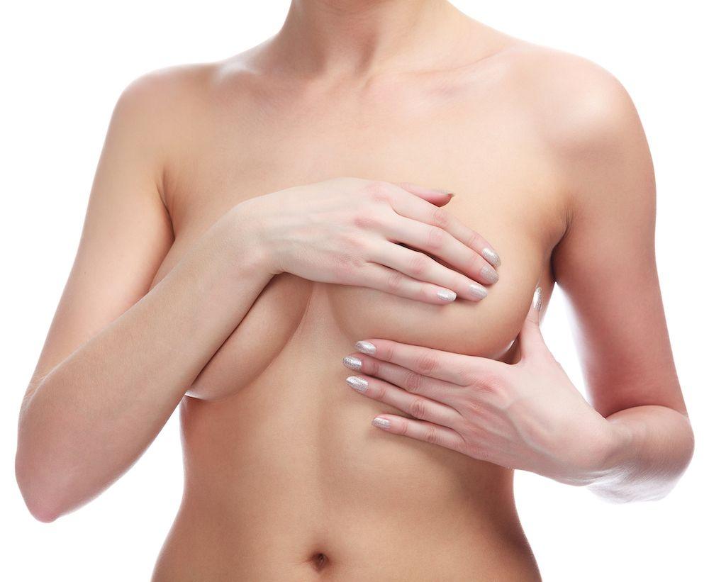 lopsided breast