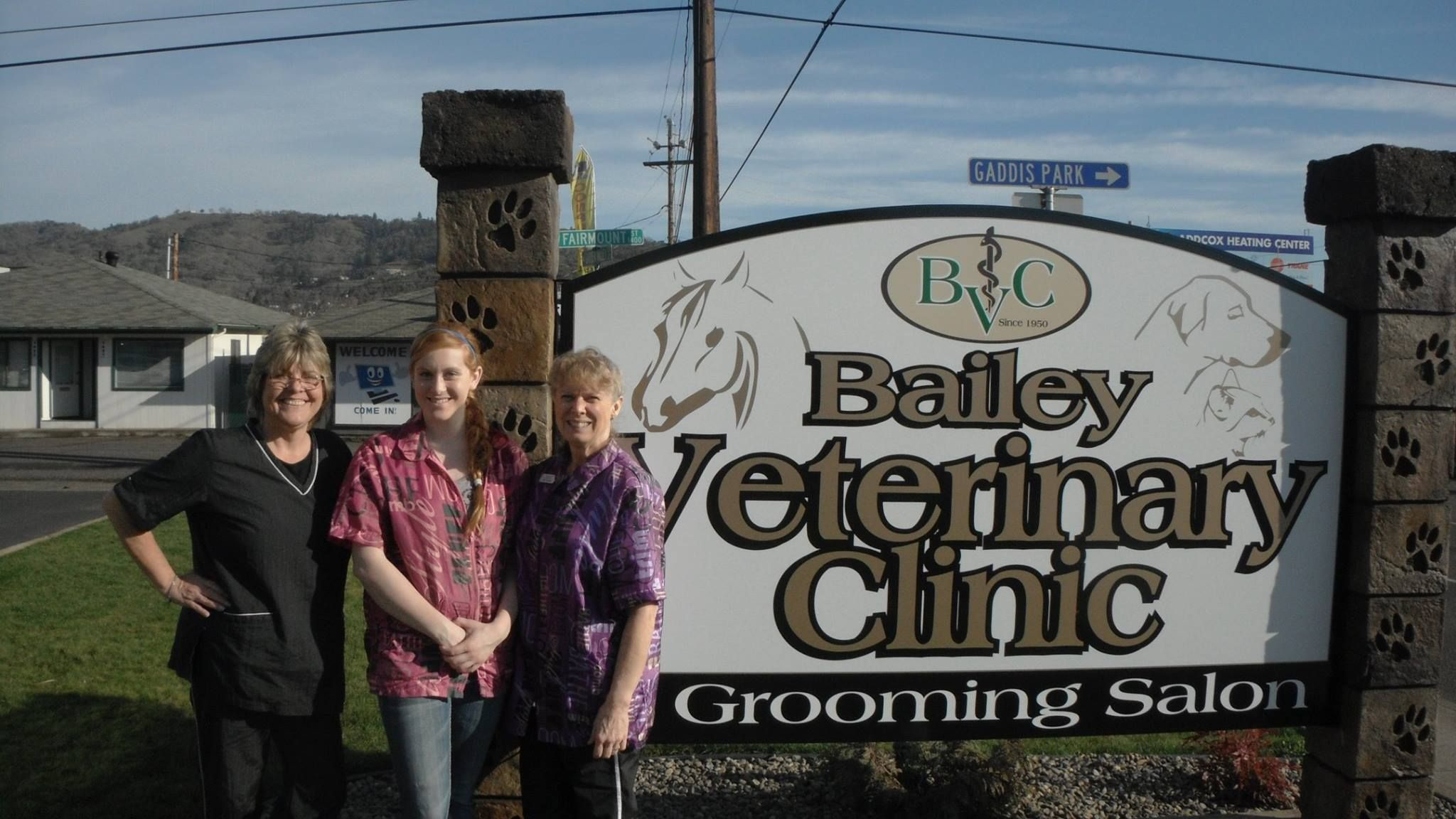 bailey veterinary clinic staff