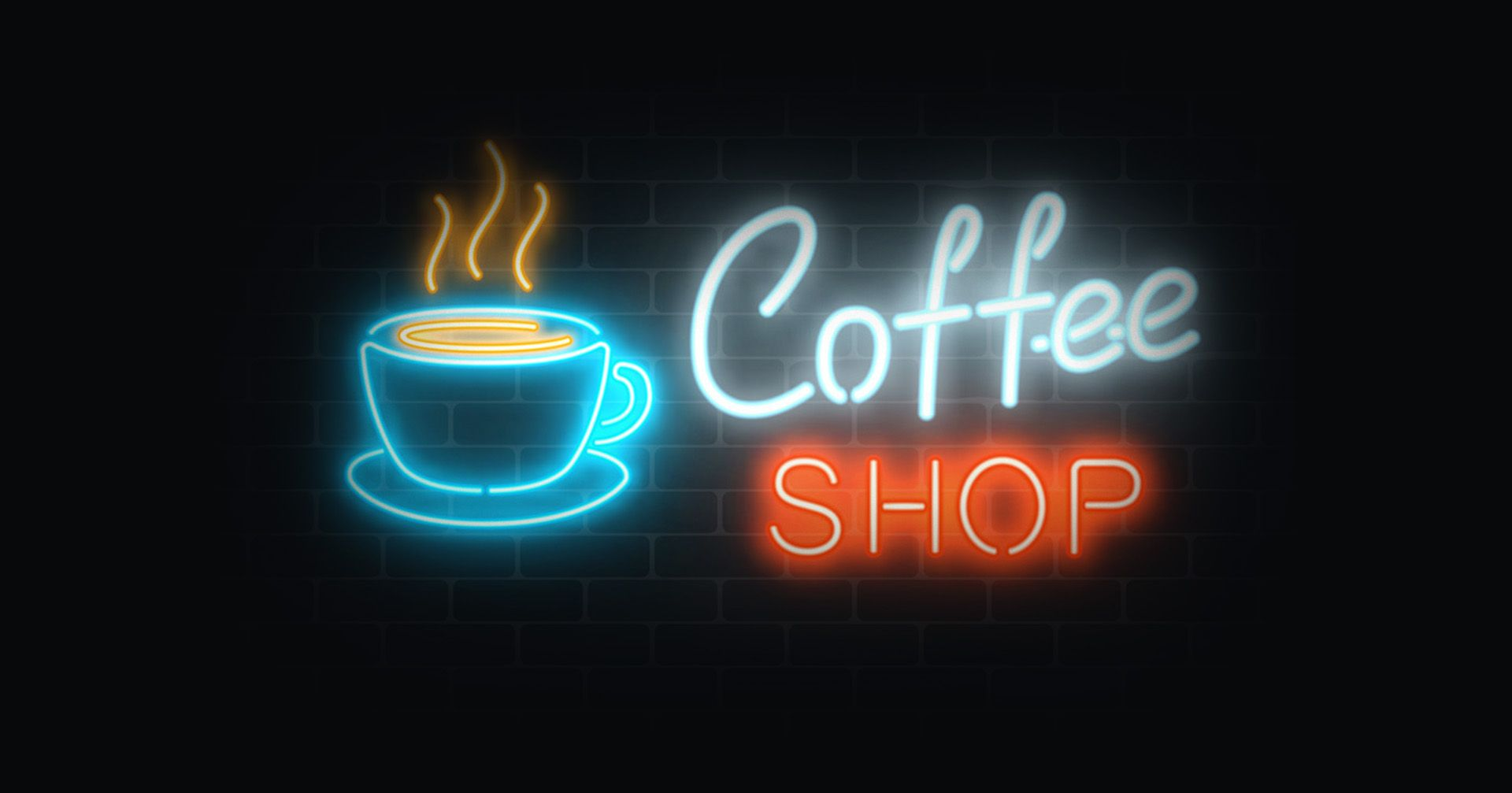 Coffee Shop Neon Signs