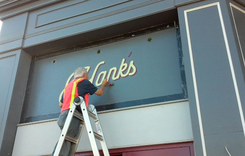 Hand-Painted Signs and Murals