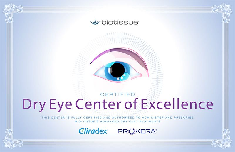 Dry Eye Center of Excellence
