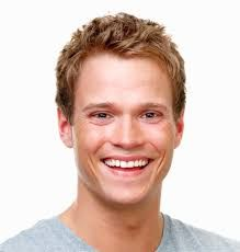 man smiling