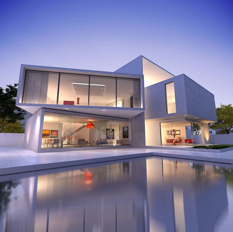 white-modern-house-with-pool