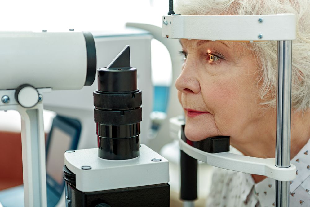 senior eye exams