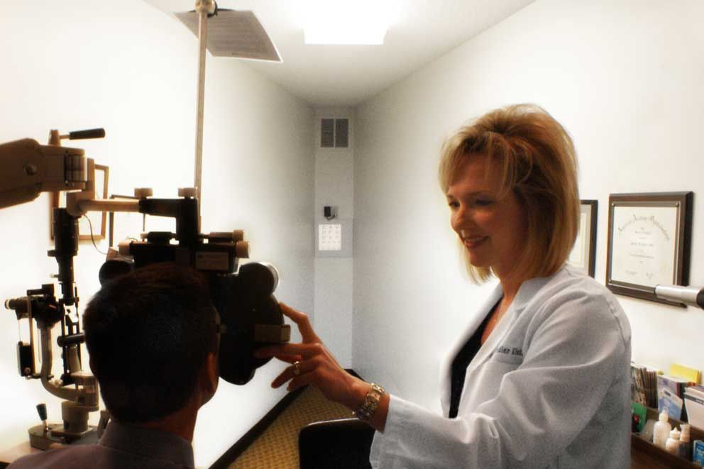 eye doctor at Feidler Eye Clinic