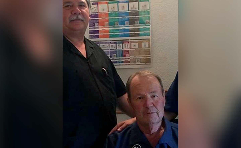 Dr. Crouch & Joe Perales